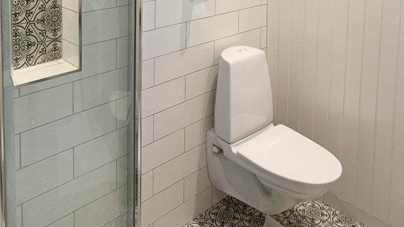 Tjänst badrum